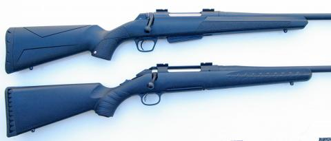 Winchester and Ruger tri-lug rifles